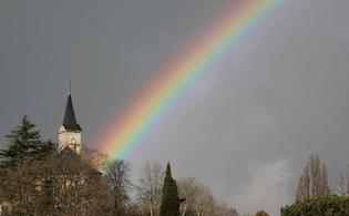 Insolite Saint-Lezer 65500 Ciel de ce Vendredi 19 janvier 2018 à 15h 51.
