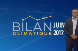 Vidéo Bilan climatique de mai 2017